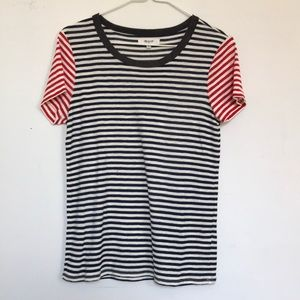 Madewell Striped Tee M